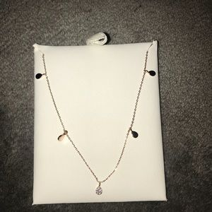 Droplet Necklace Rose Gold